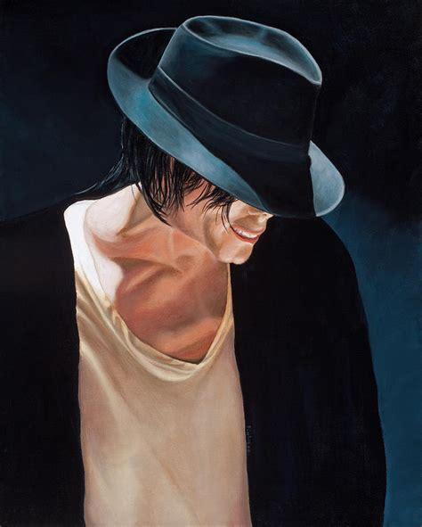 Baby Mj Hat michael jackson black hat painting by douglas fincham