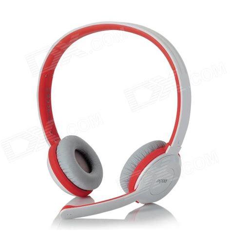 Headset Rapoo rapoo h8030 2 4ghz wireless headset headphones w microphone white orange free shipping