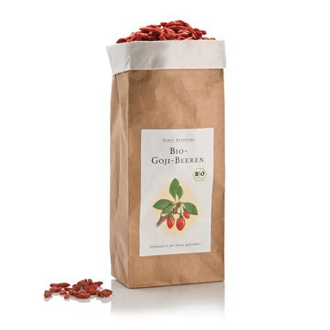 Gojiberry 500 G bio goji jagode 500 g sanct bernhard vibrimed eu