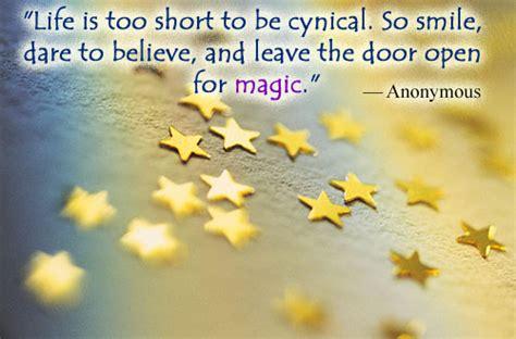 magic quotes  sayings
