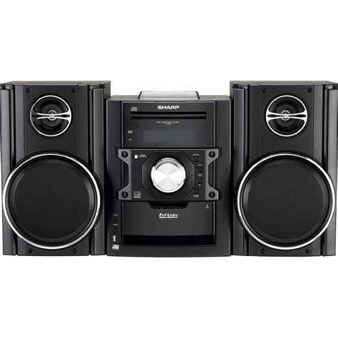 Ac Sharp 300 Watt sharp cddh899n 300 watt mini stereo system w cd
