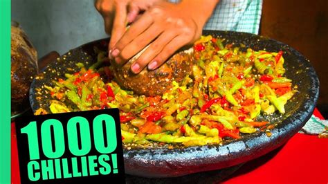 extreme spicy food challenge  jakarta huge  kinds