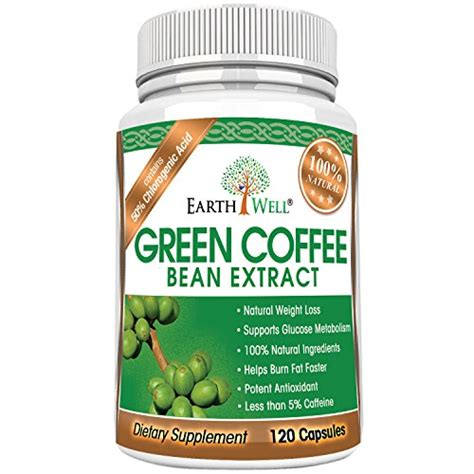 Green Coffee new green coffee bean extract with 350mg gca 100 recommended best weight loss