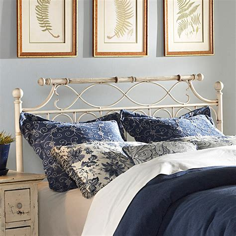 Where To Buy Headboards by Chester Iron Headboard Creme Brulee Finish Ornate Design