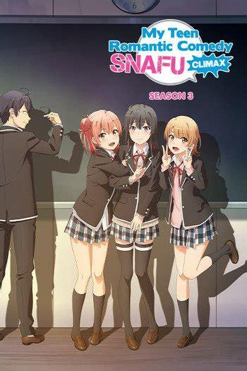 teen romantic comedy snafu  anime planet