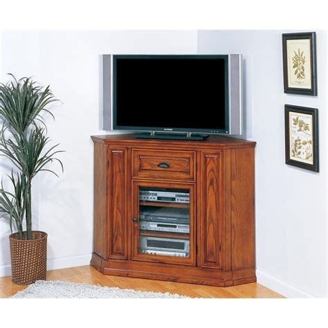 leick furniture boulder creek 46 quot corner tv stand in
