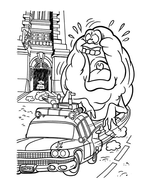 coloring pages ghostbusters free printable ghostbusters coloring pages for kids