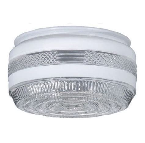 replacement glass for a bathroom light fixture useful disk drum porch and utility room glass ceiling light shade