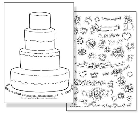 wedding cake coloring pages to print 45 free wedding coloring pages to print gianfreda net