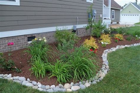Garden Border Ideas Cheap Landscape Edging Borders Posts Related To Landscape Edging Ideas Cheap Landscaping