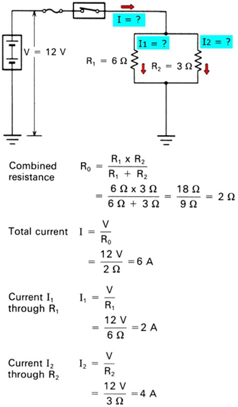 parallel circuits formulas kbreee series parallel and series parallel circuits
