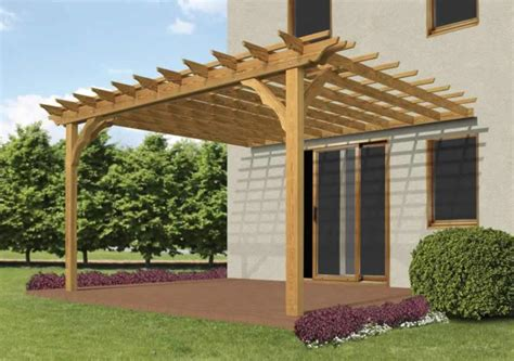 Pergola Project Abdullah Yahya Pergola Attached To House