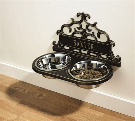 Wall Mounted Pet Feeder personalized wall mount pet feeder 187 gadget flow