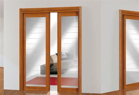 porte scorrevoli in vetro per interni porte scorrevoli vetro e legno