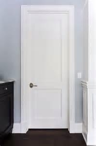 2 flat panel mdf paint grade interior door custom wood