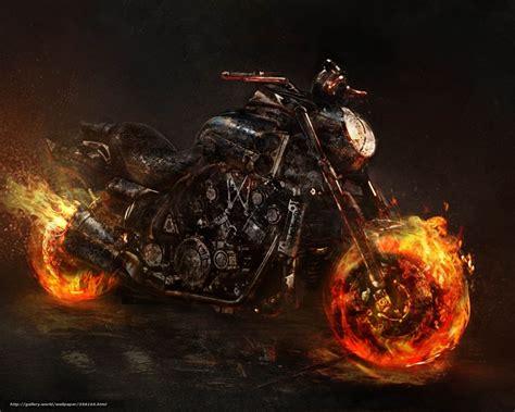 Motorrad Aus Film by Download Wallpaper Ghost Rider Bike Motorcycle Fire