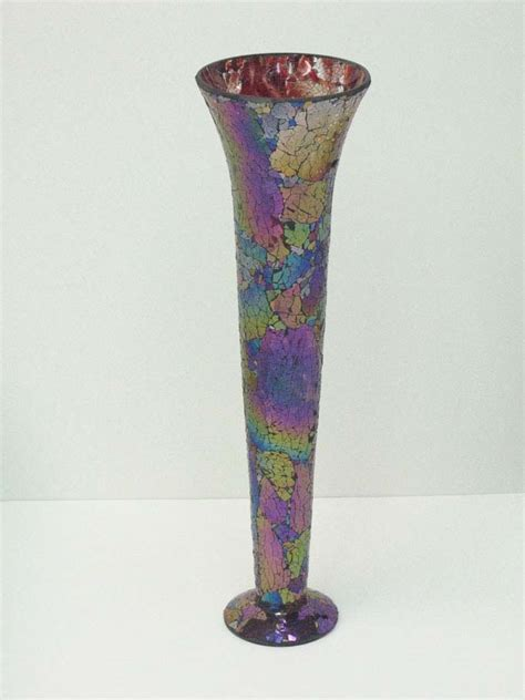 Mirror Glass Vase by Muranoartglass Us A Franklinmall Site Featuring