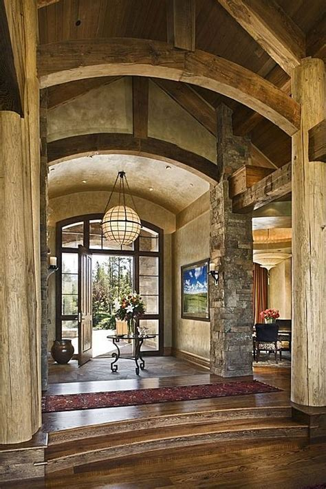 Rustic Entryway | luxury front entrance you had me at hello the home