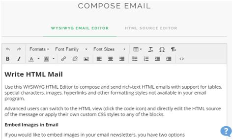 design html email for gmail create html emails for gmail online with wysiwyg editor