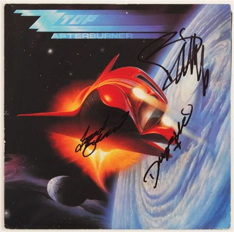 lot detail zz top billy gibbons signed quot lot detail zz top signed quot afterburner quot album