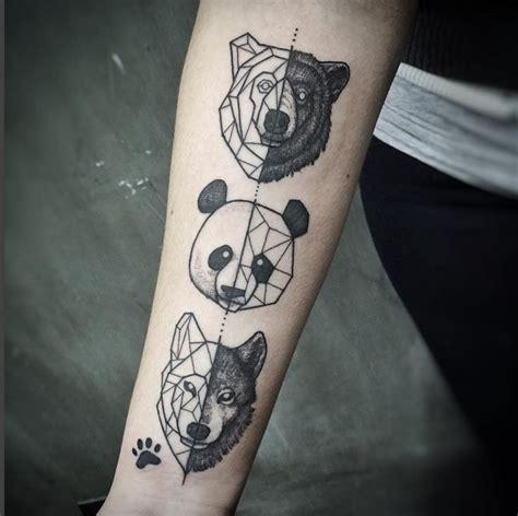 wolf tattoo half geometric 17 best ideas about geometric tattoos on pinterest