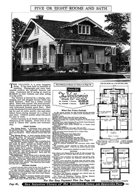 Sears Kit Homes Floor Plans | the sears and roebuck kit home real estate