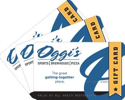 Pasta Express Gift Card Balance - gift cards oggi s corporate
