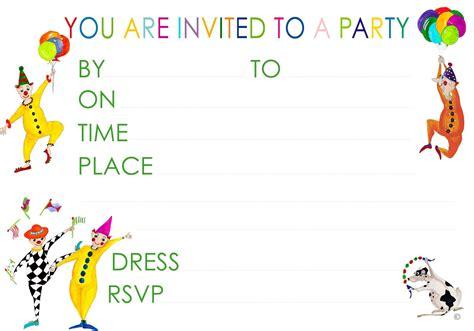 birthday party invitations free sansalvaje com