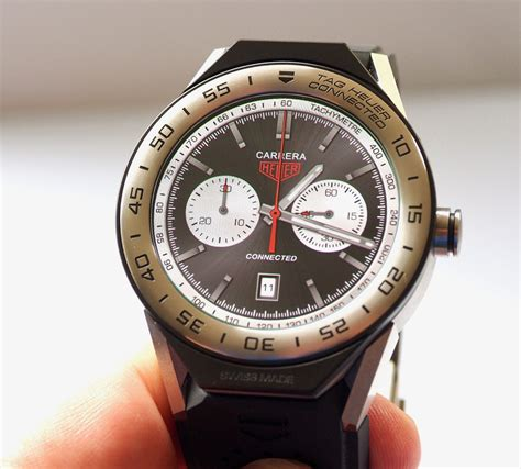Tag Heuer Connected Black Original in depth review tag heuer connected modular 45 smartwatch