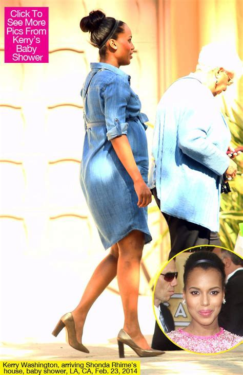[PICS] Kerry Washington?s Baby Shower ? Photos From ?Scandal? Star?s Party   Hollywood Life