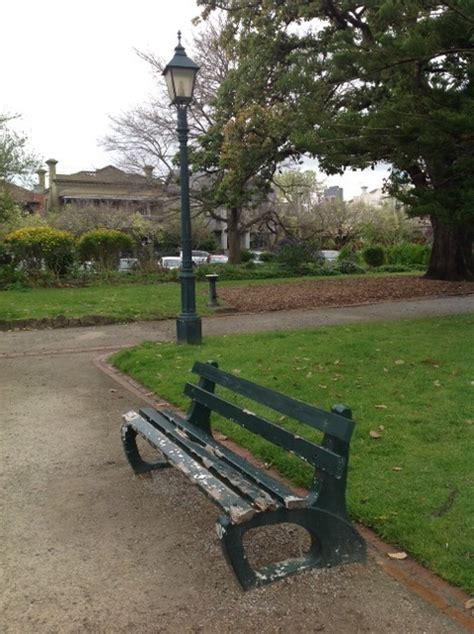park benches melbourne st vincent gardens melbourne