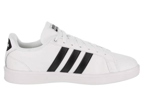 adidas s cloudfoam advantage adidas lifestyle shoes casual shoes aw4287 white