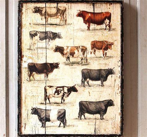 framed vintage  breeds antique farmhouse