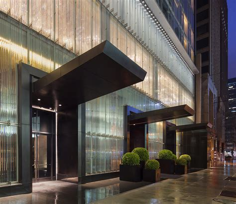Front Entrances som s baccarat hotel amp residences hits luxury design in