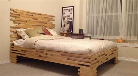 Ideas For Bed Frames 20 Diy Bed Frames That Will Give You A Comfortable Sleep Home And Gardening Ideas