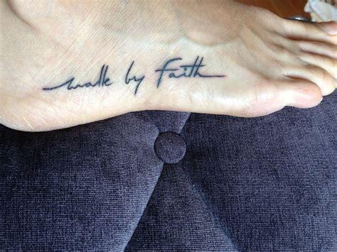 christian tattoo testimony the 25 best walk by faith ideas on pinterest trust in