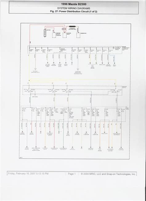 mazda truck fuse box diagram 28 images 96 mazda b2300