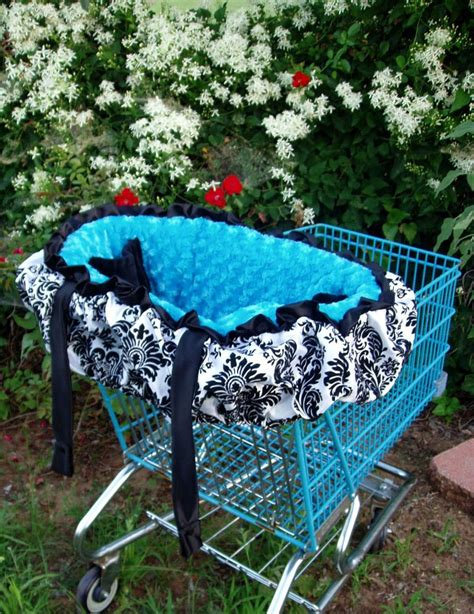 Handmade Shopping Cart Covers - shopping cart cover w top ruffle by whistlestopbedding on etsy