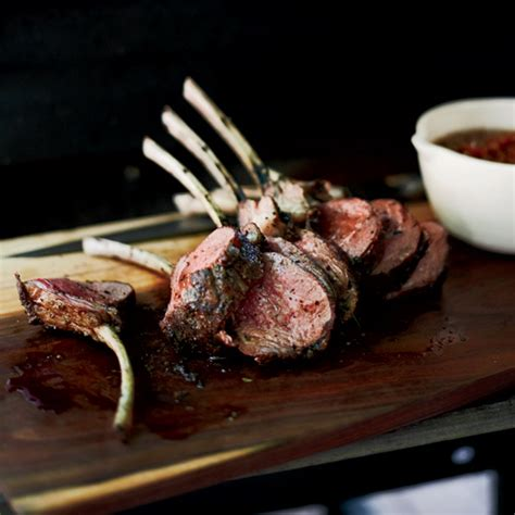 Grilled Rack Of by Grilled Rack Of With Mustard And Herbs Recipe