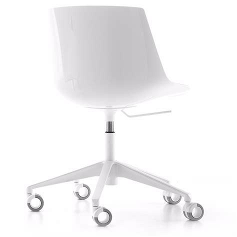 Mdf Lackieren Rolle by Flow Chair Mdf Italia Mit 5 Rollen Gestell