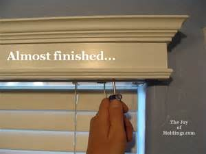 How To Build Window Cornice 4 Install Window Valance Cornice Box How To Diy The Joy