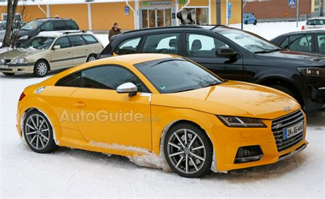 Audi Tt Rs Manual Transmission by 2017 Audi Tt Rs Spied With A Manual Transmission