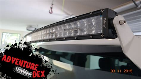 50 inch led light bar for jeep jeep curved 50 inch led light bar by auxbeam