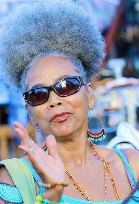 51 grey afro puffs pin by tia newkirk on silver foxes grey hair pinterest