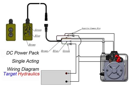 hydraulic solenoid valve wiring diagram power up power