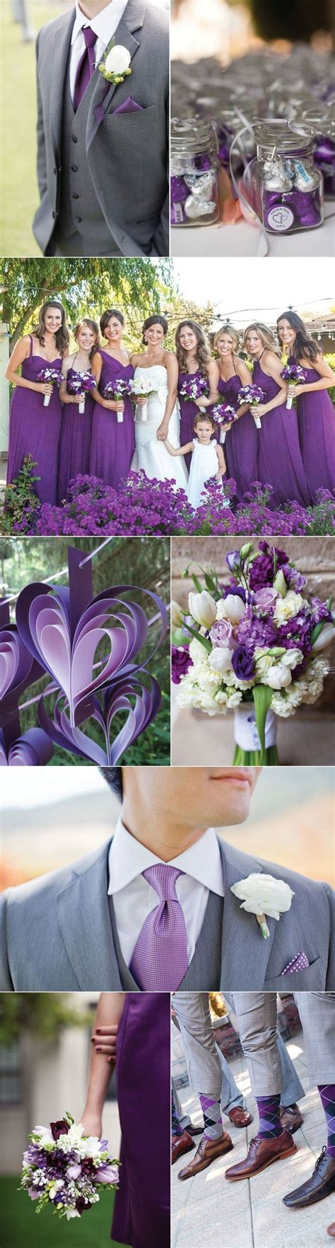 themes the colour purple 25 best ideas about purple silver wedding on pinterest