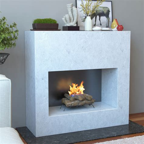 fireplace log set 18 inch convert to ethanol fireplace log set with burner