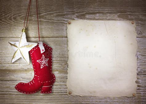 cowboy christmas background  western toys boot