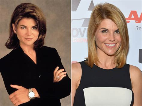lori loughlin now and then double take then and now photos of celebs who don t seem
