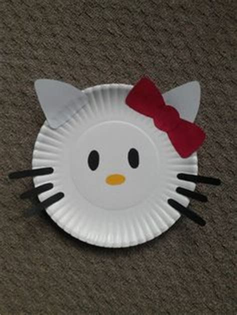 Paper Plate Hello paper plate crafts for children can make on